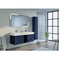 Meuble salle de bain ARTENA 1400 Bleu Saphir