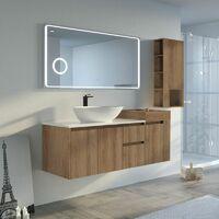 Meuble salle de bain AVEZZANO 1400 Scandinave vintage