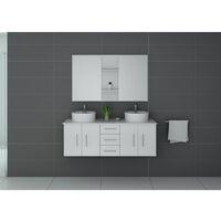 Meuble de salle de bain CARSOLI Blanc