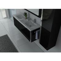 Meuble de salle de bain DIS025-1500 Noir