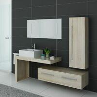 Meuble de salle de bain DIS9250 Scandinave