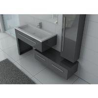 Meuble de salle de bain DIS9251 Gris Taupe