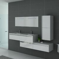 Meuble de salle de bain BELLISSIMO Blanc