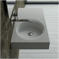 Plan vasque solid surface Réf : SDBK800