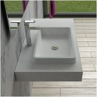 Plan vasque solid surface Réf : SDPW13-A