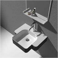 Plan vasque solid surface Réf : SDWD38185
