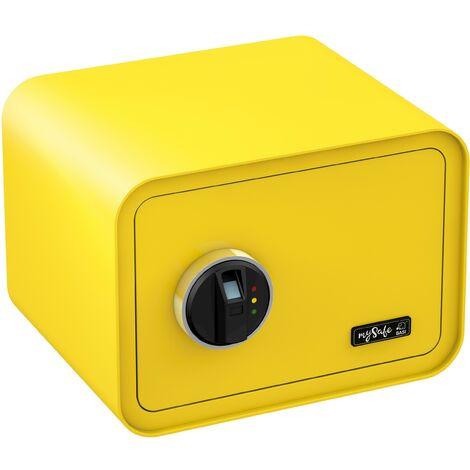 Coffre-fort BASI MySafe 350 à empreinte digitale Couleur du corps - Jaune