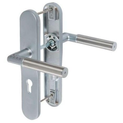 Poignée de porte Mul-T-Lock Code-It avec code électronique Portes - gauche, Type de poignée - Rosace