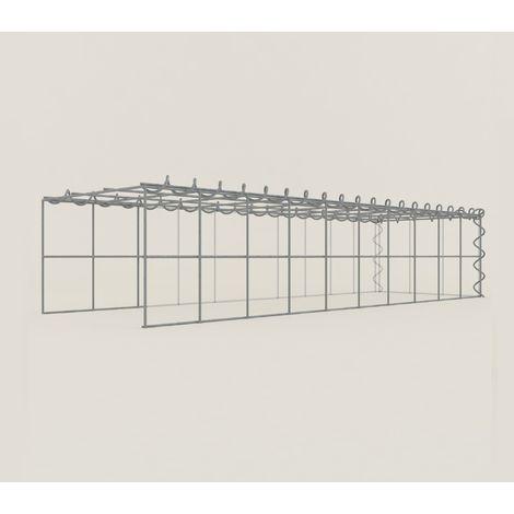 Extension gabions 12311-4 - 100 x 20 x 30 cm
