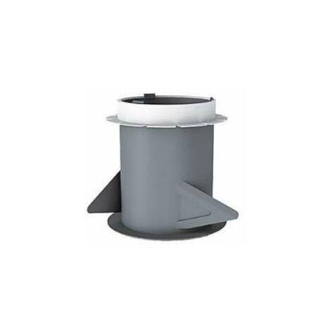 Manchon plastique placo 3 griffes D80 l.100 mm -  ECONONAME - MP80L100  Manchon 3 griffes pour placo - Diam 80 mm - longueur 100 mm - pour bouches fixes, réglables, autoréglables et hygroréglables