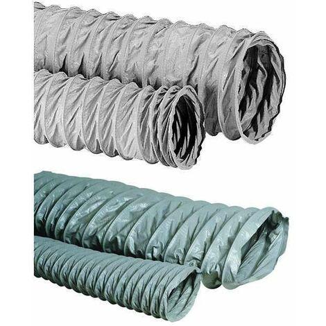6m Conduit souple armé fibre 100 - Algaine FV D100 ALDES - 11091629  6m Conduit souple armé fibre 100