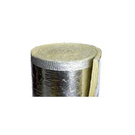 Rouleau laine de verre - COVEROLL A2 50 ATLANTIC - 547735 Feutre en laine de verre revêtu sur une face dun complexe en aluminium renforcé. Epaisseur 50mm. Classement A2.