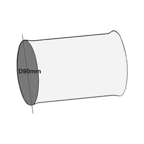 Manchon raccord D90 mm -  ECONONAME - RMR-90