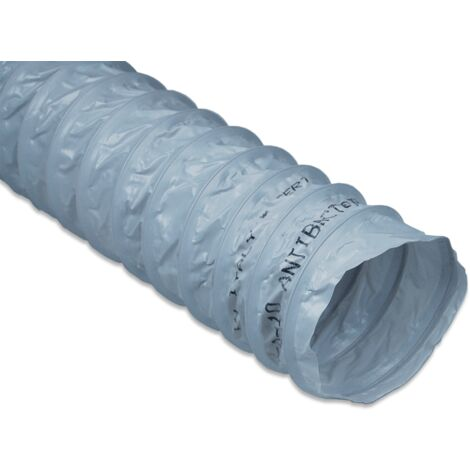 Gaine flexible PVC Antibactérienne - SAE 100 ECONONAME - GSAE100  Diamètre 100 mm