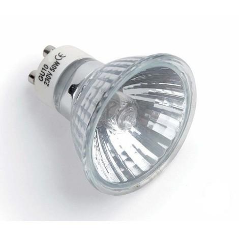 BOMBILLA HALÓGENA GU10 50W Color de Iluminación Cálido (2700k)