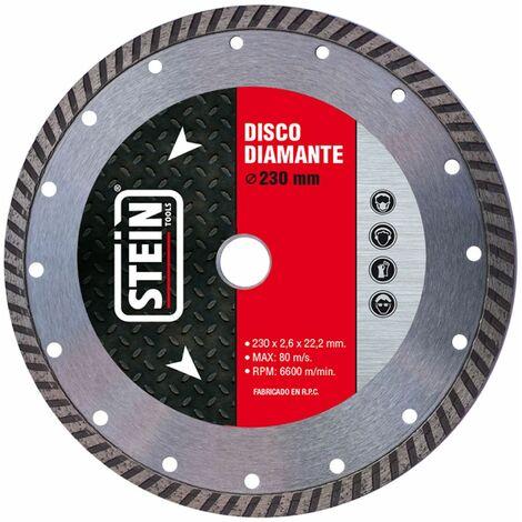 ALFA disco amoladora diamante turbo  230mm 1 unidad
