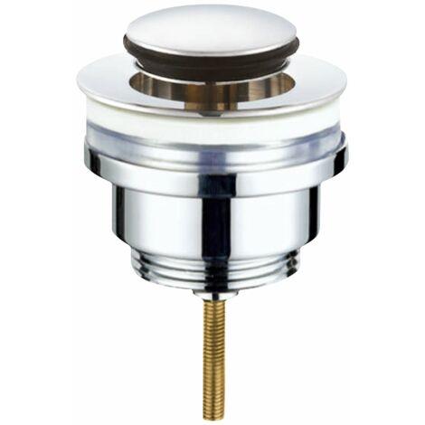 Válvula click-clack 1/4x37mm cromo