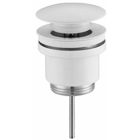 Válvula click-clack 1/4x63mm blanca
