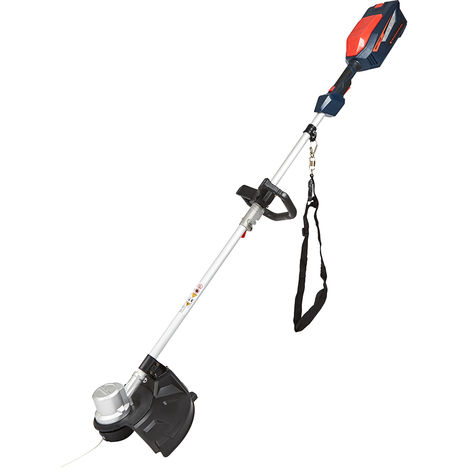 Cordless 84V Brush Cutter Grass Lawn Edge Weed Trimmer - Battery & Fast Charger