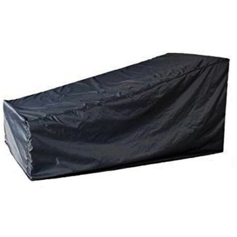 Waterproof Steamer Sun Lounger Bed Cover - Outdoor Heavy Duty Weather Protection