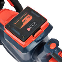 Cordless 84V Lightweight Hedge Trimmer Bush Cutter with Battery & Fast Charger