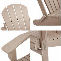 Green Wood Adirondack Garden Chair Outdoor Armchair Lounger Patio Deck Seating