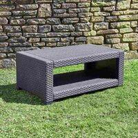 5-Seater Rattan Sofa, Table & Chair Lounge Set Outdoor Garden Patio Furniture