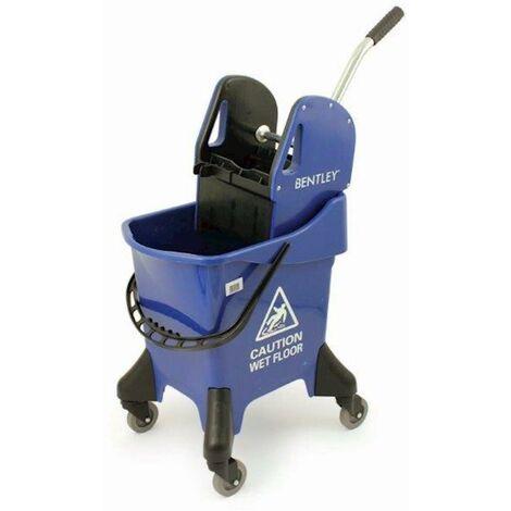 Bentley Heavy Duty 31 Litre Kentucky Mop Bucket With Wringer - Various Colours - Blue