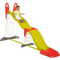 Smoby Childrens Kids 2-In-1 XL Super Garden Outdoor Slide 1.5-3 Meter - Multi-Coloured