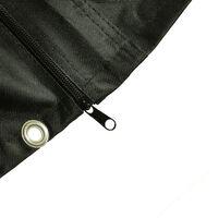 Charles Bentley 2 Seater Swing Seat Cover - Black - Black