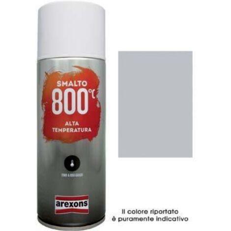 Smalto spray 100% acrilico alte temperature arexons 400 ml colore rosso