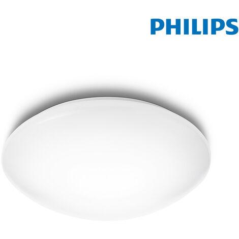 PLAFON INTERIOR LED 9,6W 1.200LM 6.500K SUEDE Ø 28 cm PHILIPS