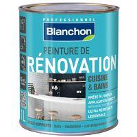Peinture rénovation cuisine & salle de bain 1L Gris clair