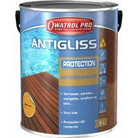 ANTIGLISS Incolore 5L Protection antidérapante pour terrasses,