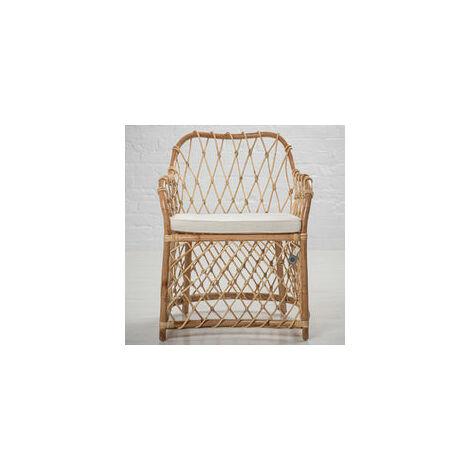 Bahama Rattan Open Armchair