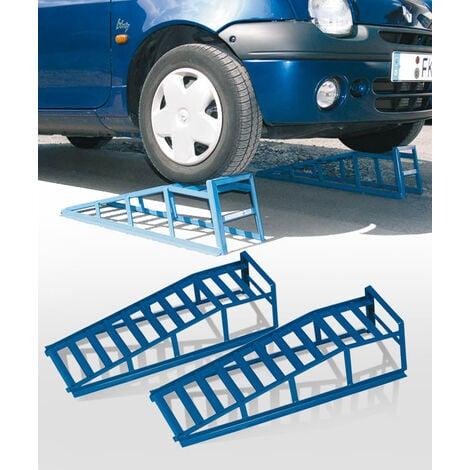 Rampes de voiture, capacité de 2 tonnes par paire, jusqu'à 195 mm