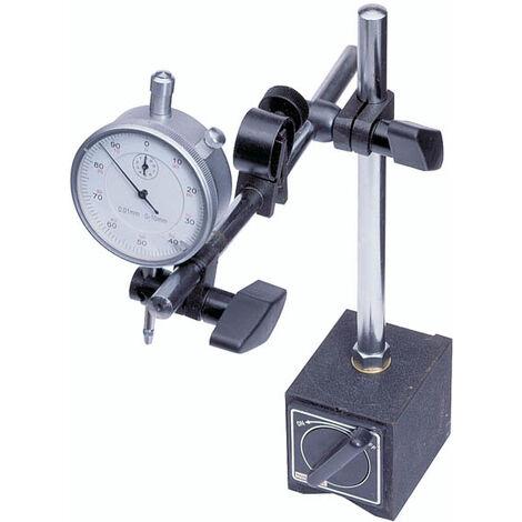 Westfalia Jauge à cadran avec support de mesure magnétique