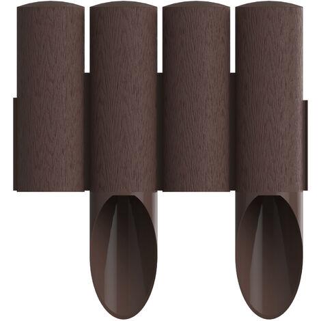 Cellfast Palissade de jardin STANDARD verte hauteur 25,5cm, longueur 2,3m
