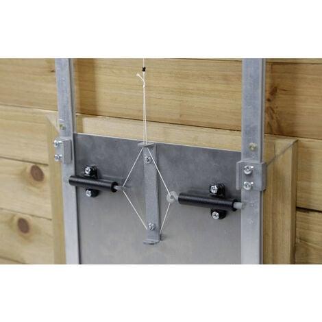 Kerbl Dispositif de verrouillage automatique de la porte automatique pour poulets