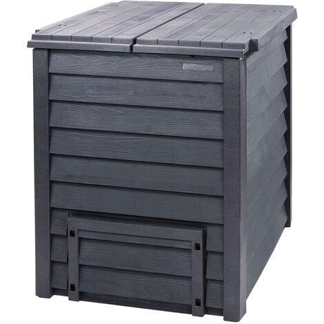 """Composteur """"Thermo-Wood"""" - 600 L avec grille au solGarantia"""