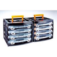 Coffret de rangement à tiroir pour petites pièces