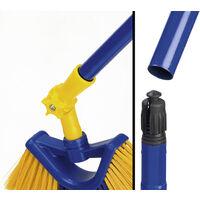 Balai-brosse téléscopique pour gouttière - extensible jusqu'à 3,8 mètres - 7 pièces Westfalia