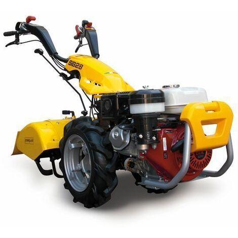 Modelo SB28 PowerSafe - Motocultor gasolina PASQUALI (INCLUYE FRESA 52 CM)