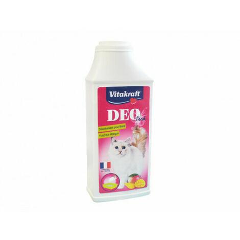 Désodorisant Deo Fresh en poudre Vitakraft pour litière Parfum Mangue Contenance 375 g