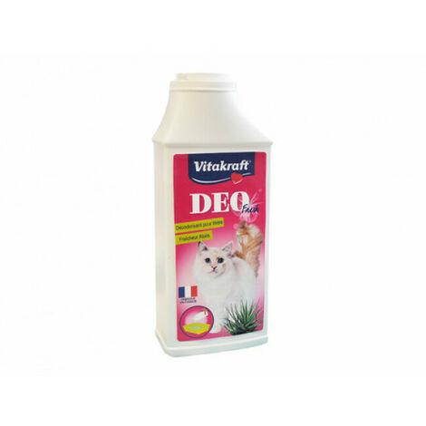 Désodorisant Deo Fresh en poudre Vitakraft pour litière Parfum Aloès Contenance 375 g