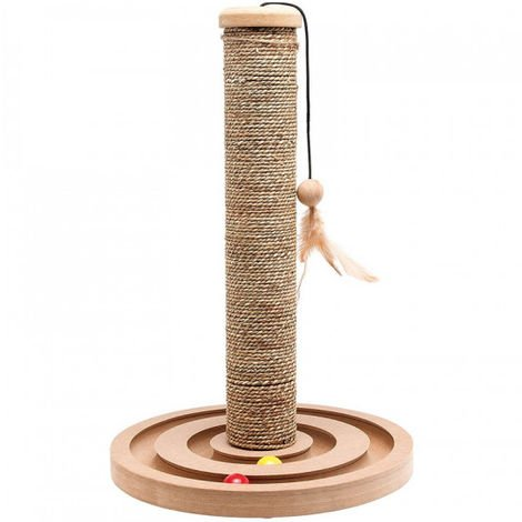Cat scratching posts and towers
