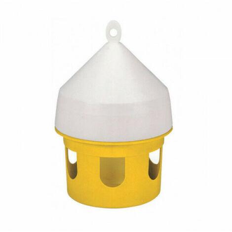 Mangeoire pour pigeons en forme de maisonnette 5 litres Kerbl