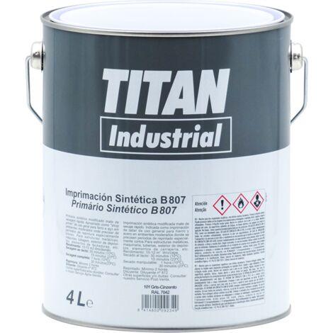 Apprêt synthétique 807 4 L Titan   Bleu RAL 5017