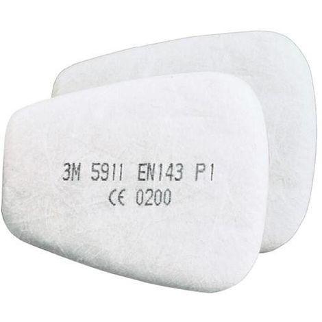 2 UD Filtre Particules 3M 5911 P1