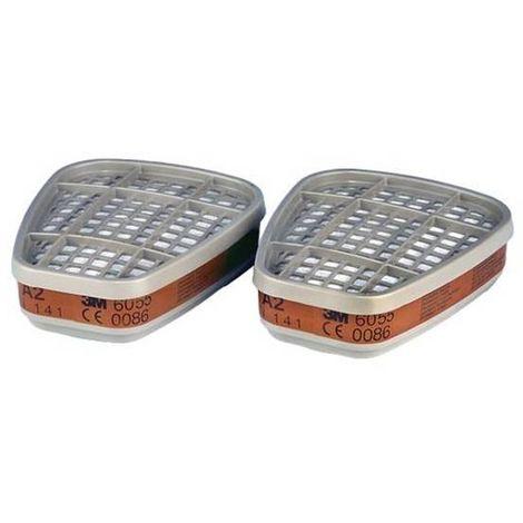 2 UD Filtre 3M 6055 Catégorie A2